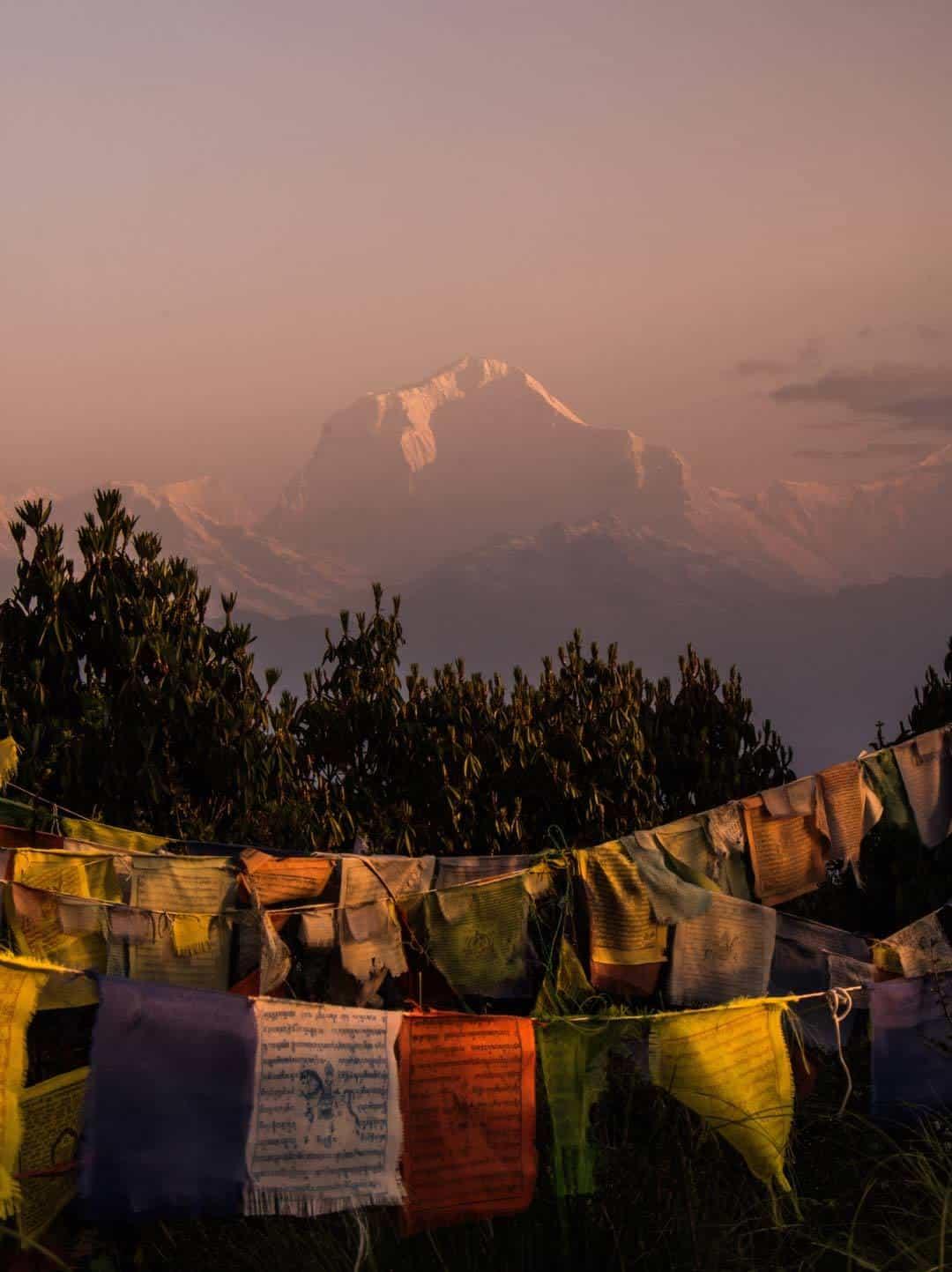 Sunrise On Dhaulagiri