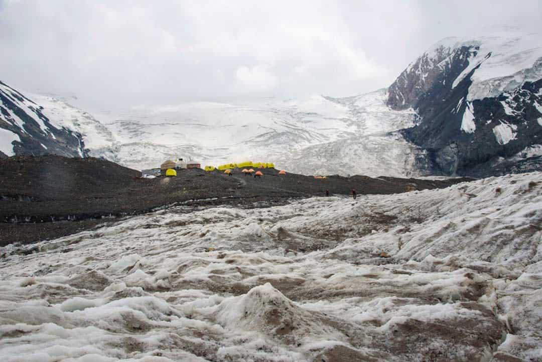 Advanced Base Camp Lenin Peak