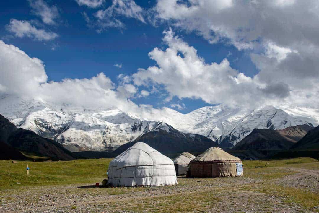 Yurts Lenin Peak