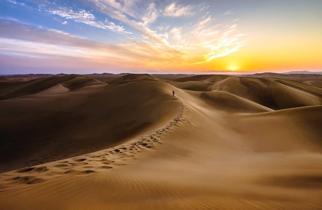 Varzaneh Desert Dunes
