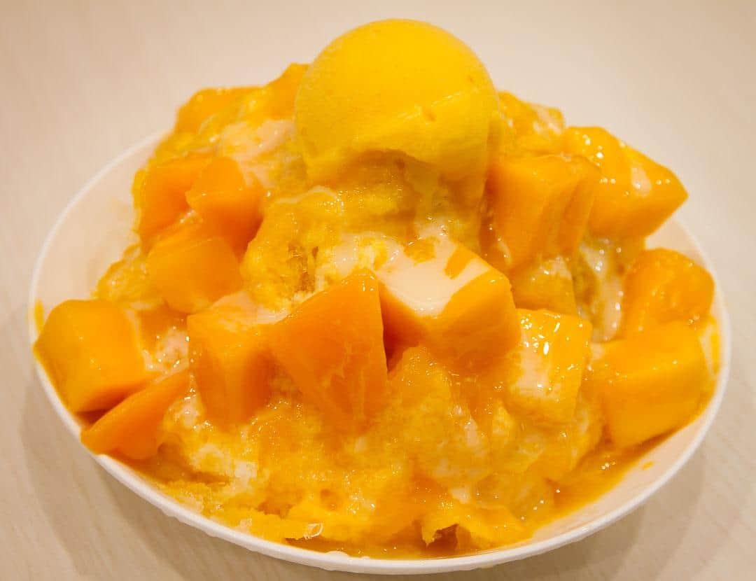 Mango Shaved Ice, Taiwanese Dessert
