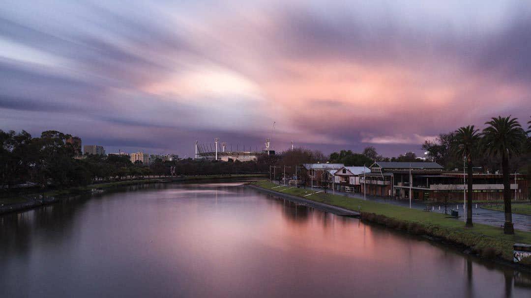 Melbourne Yarra River Pixabay