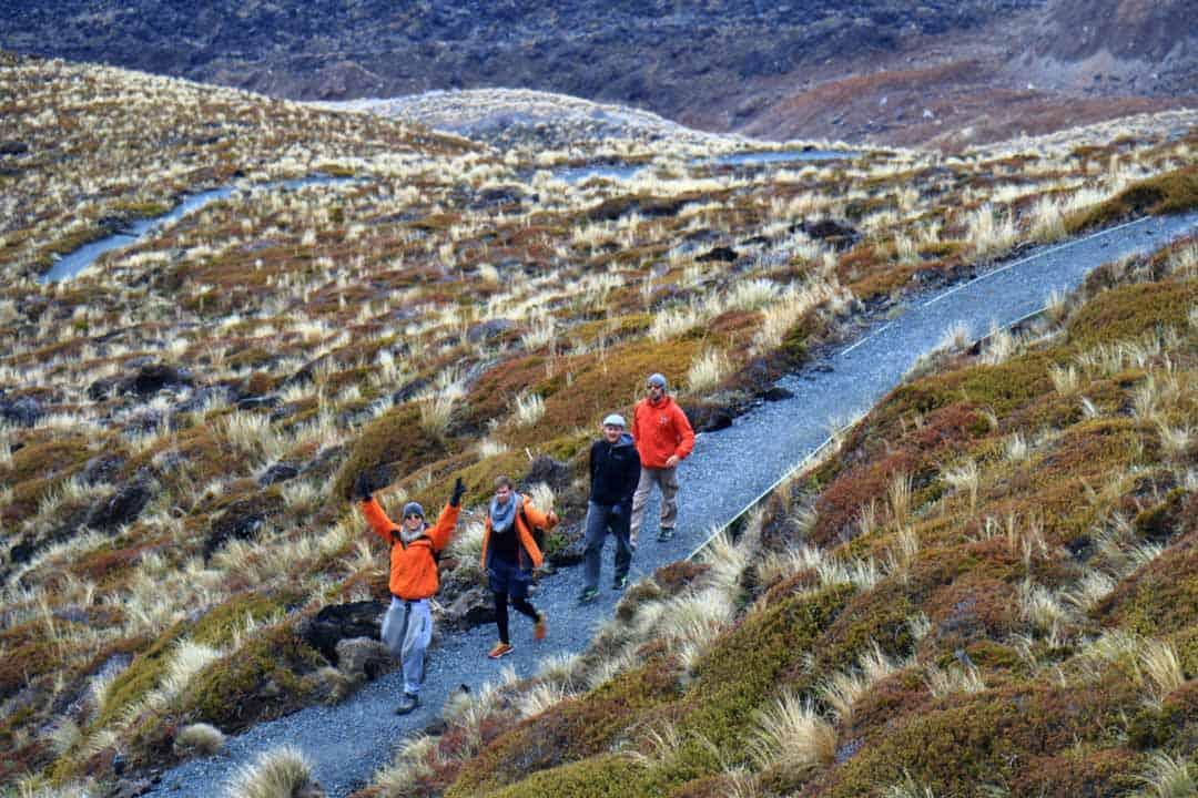 Hiking The Tongariro Circuit.