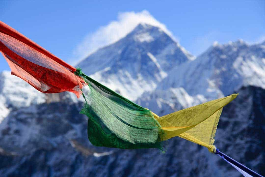 Mount Everest Prayer Flags Unsplash