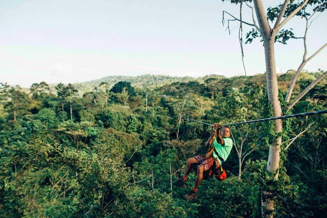 Ziplining, Rainforest