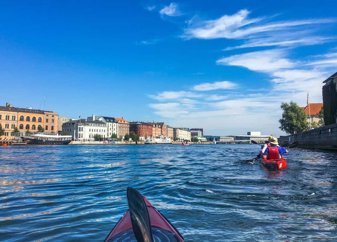 Copenhagen, Denmark, Kayak