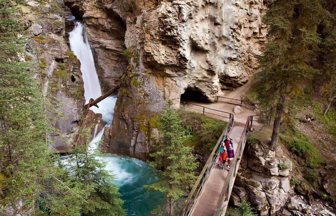 Johnston Canyon Bow Valley Hikes Around Banff