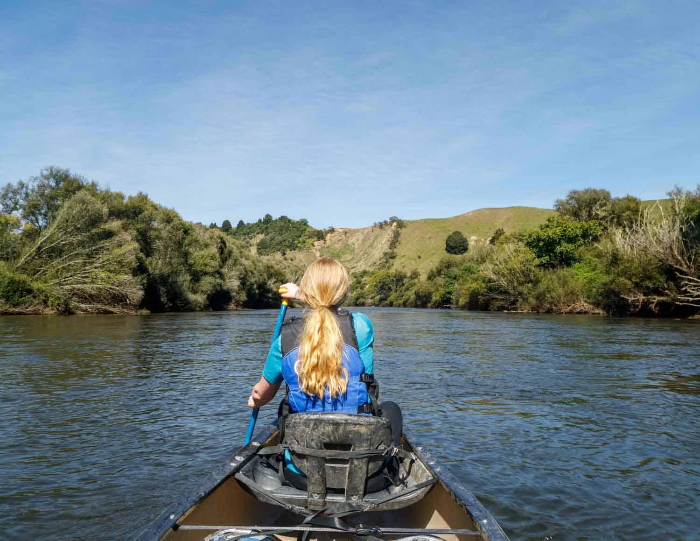 canoeing, New Zealand,Whanganui journey