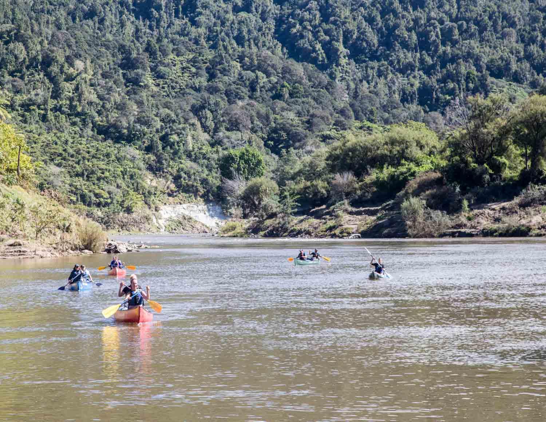 Whanganui journey, canoe