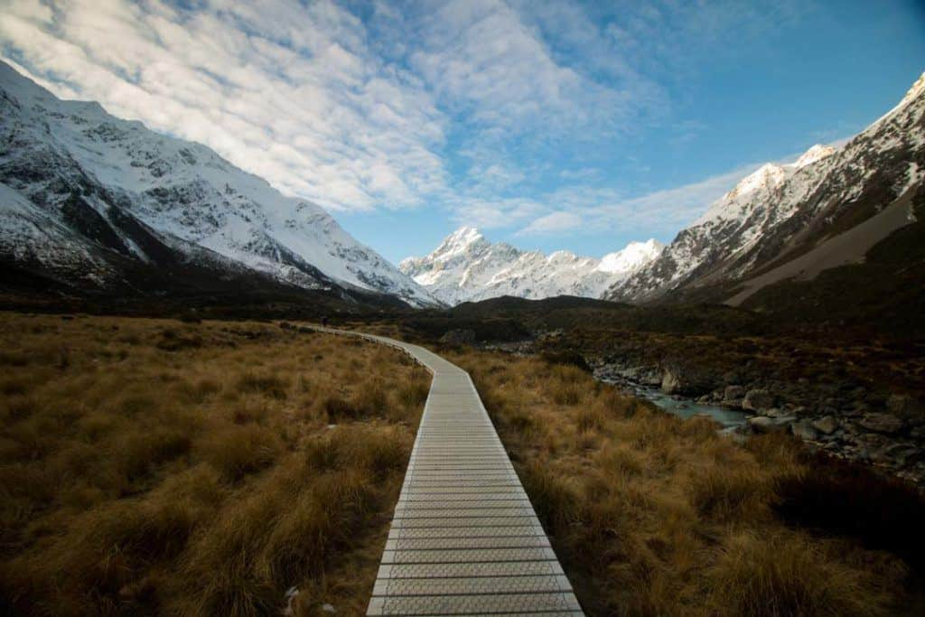 Aoraki South Island New Zealand