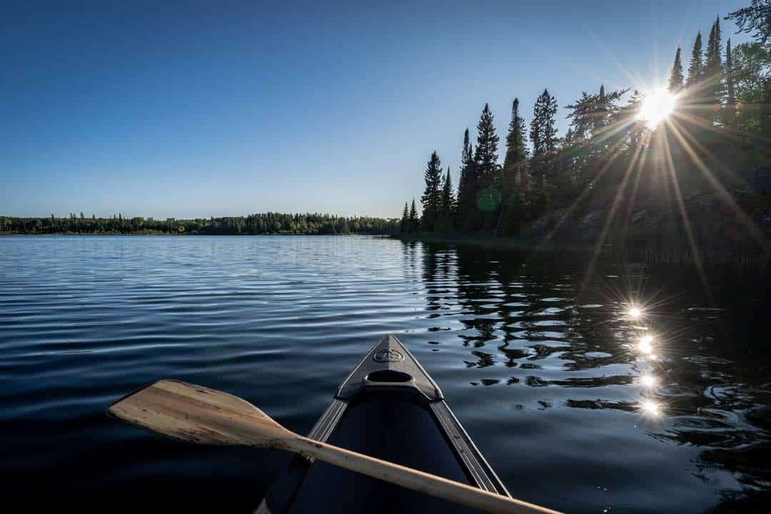 High Lake Canoe