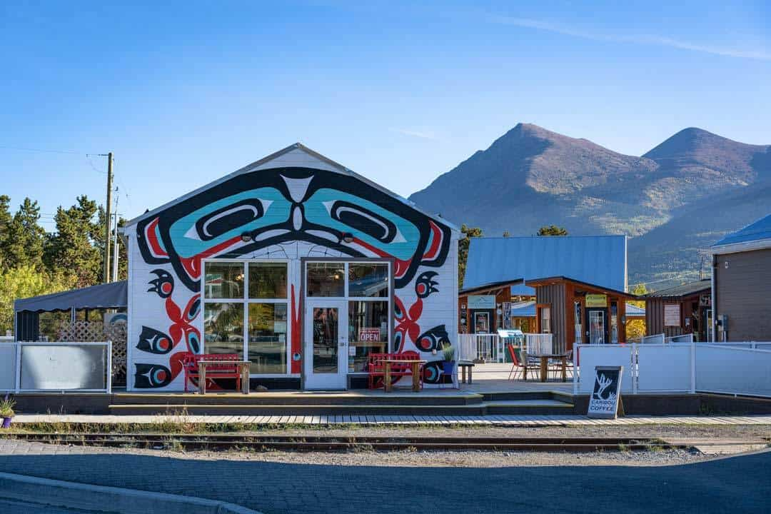 Carcross Commons First Nations Art Yukon Road Trip