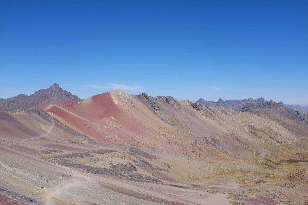 Visiting Rainbow Mountain, Peru