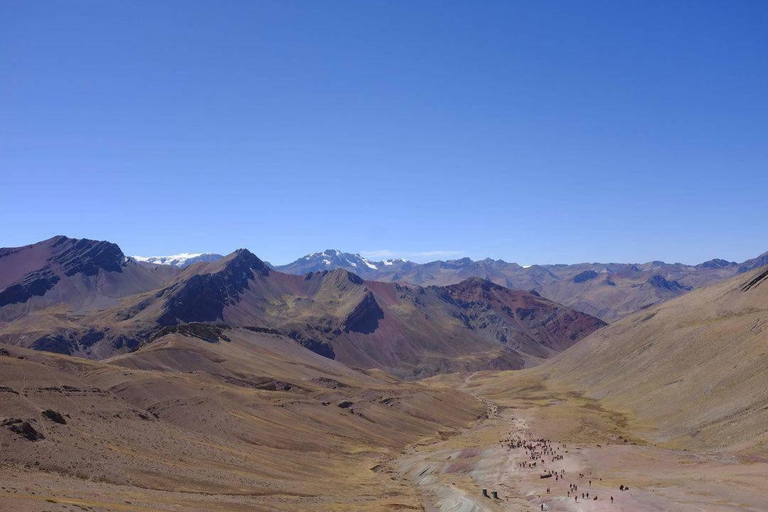 Mountainview, Rainbow Mountain, Peru