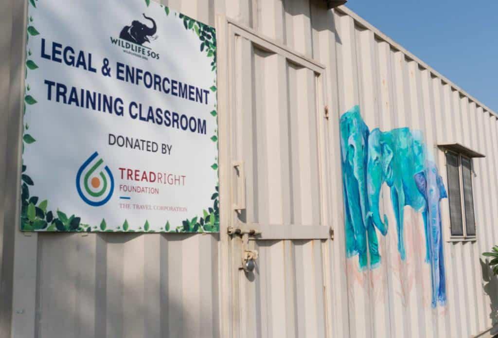 TreadRight Foundation-Funded Classroom At Wildlife SOS India.