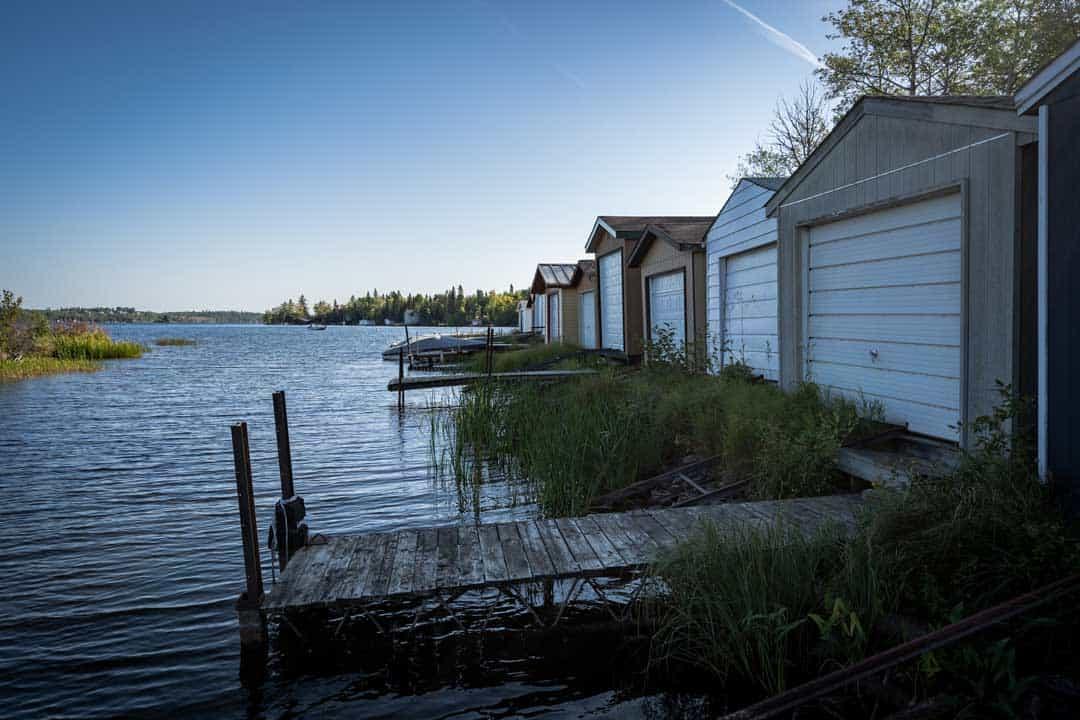 Falcon lake Boat Sheds