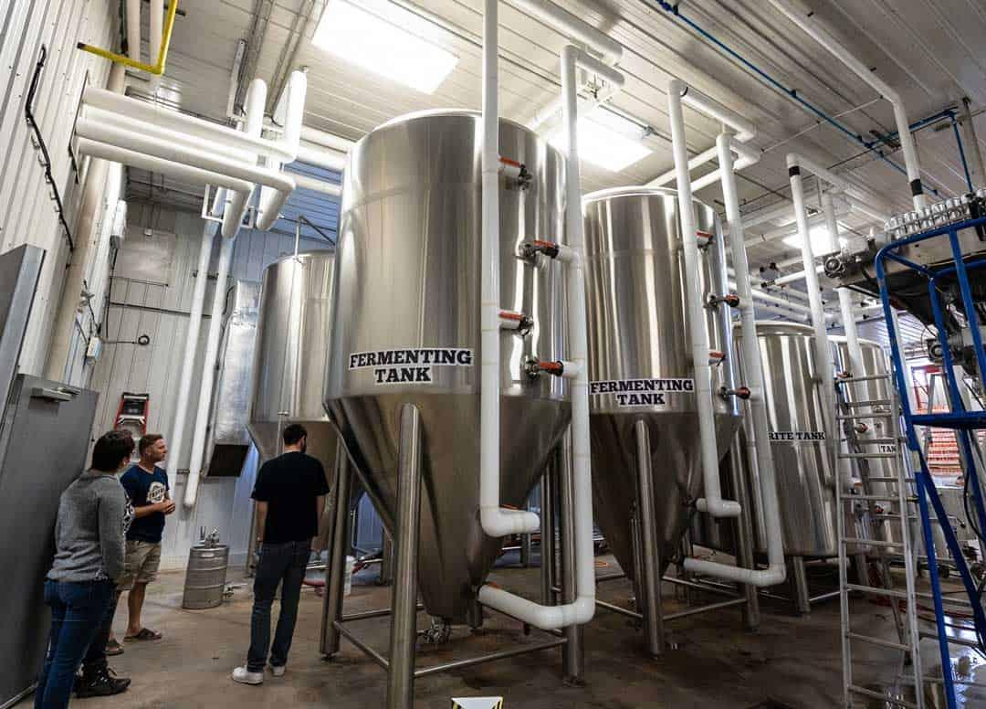 Farmery Brewery Tour Neepawa