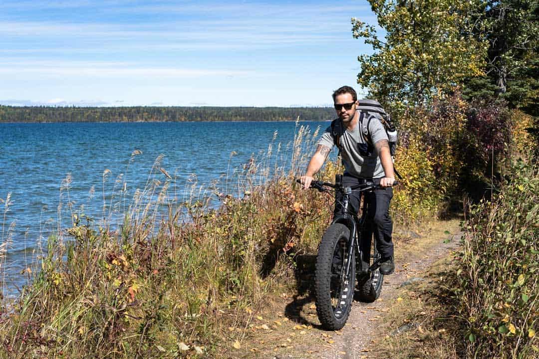 Fat Bike Riding Mountain National Park