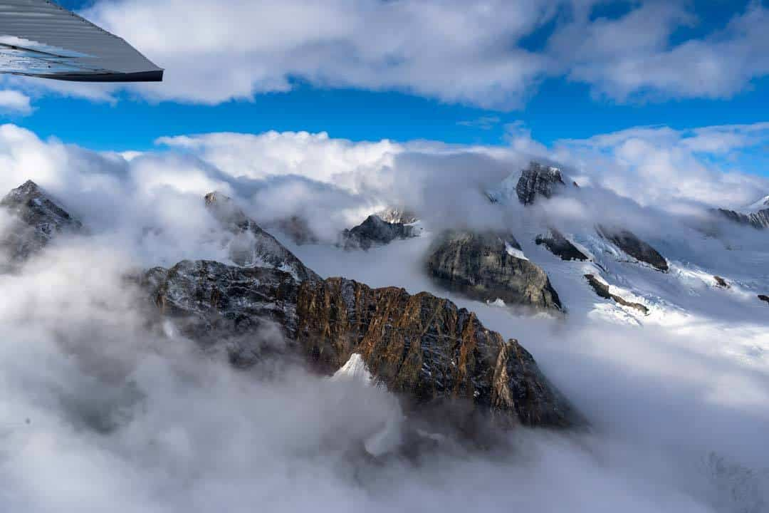 Clouds Kluane National Park