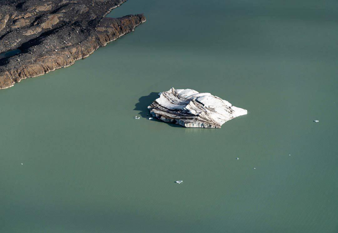 Iceberg Lake Kluane Flightseeing