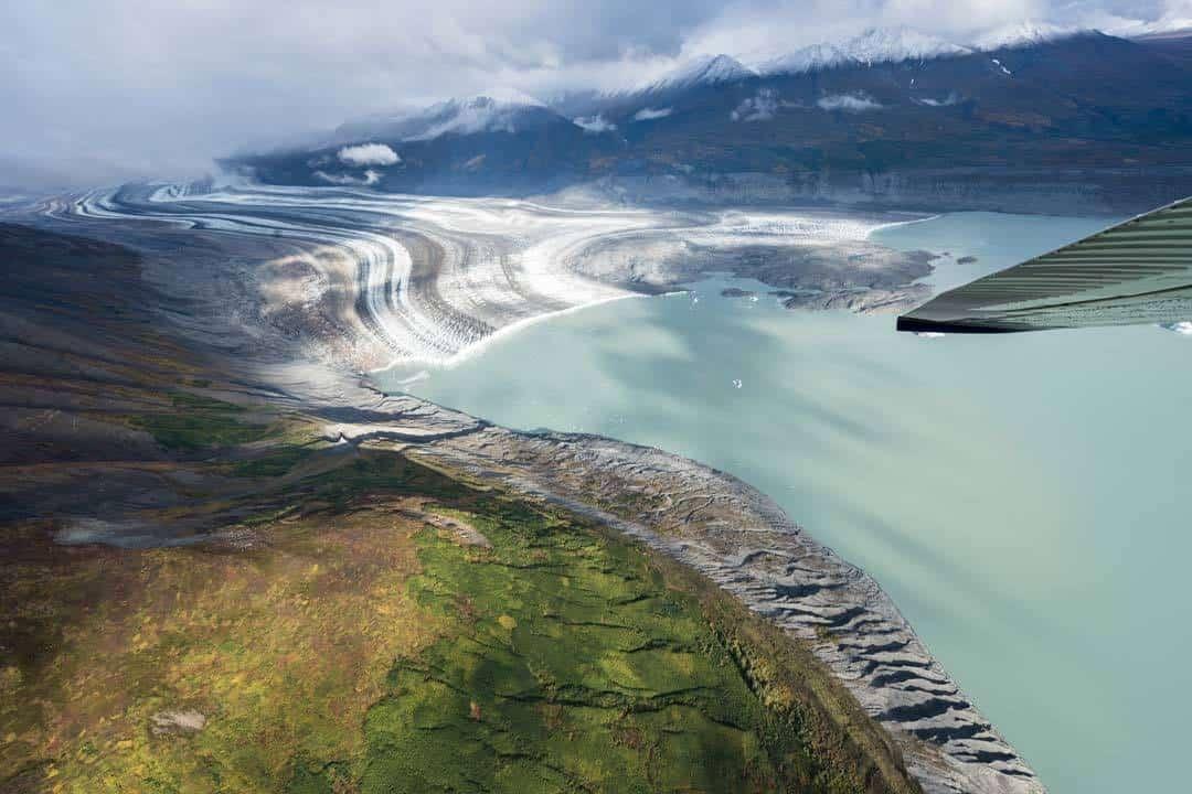 Glacial Melt Lake