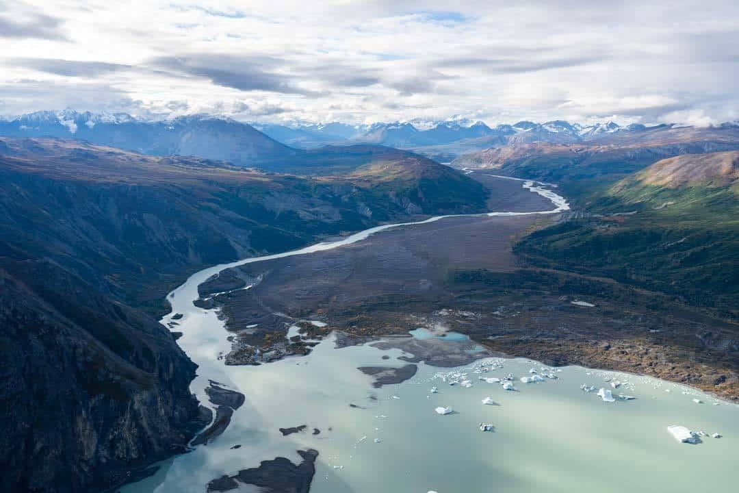 Glacier River Lake