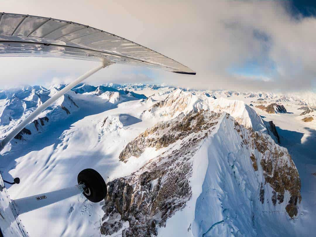 Views Kluane Flightseeing Tour Gopro
