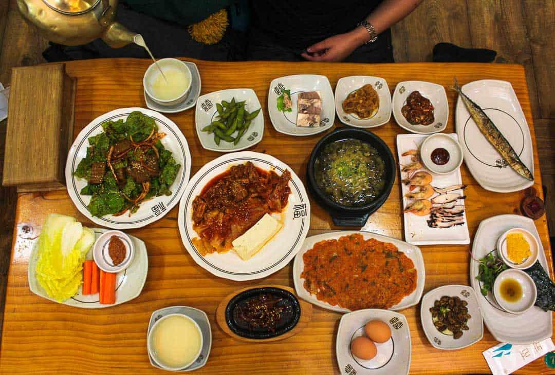 Jeonju Food, South Korea