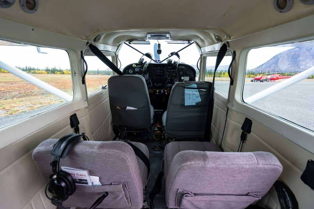 Interior Plane Kluane Glacier Air Tours