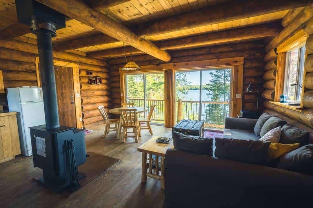 Mahigan Cabin Interior