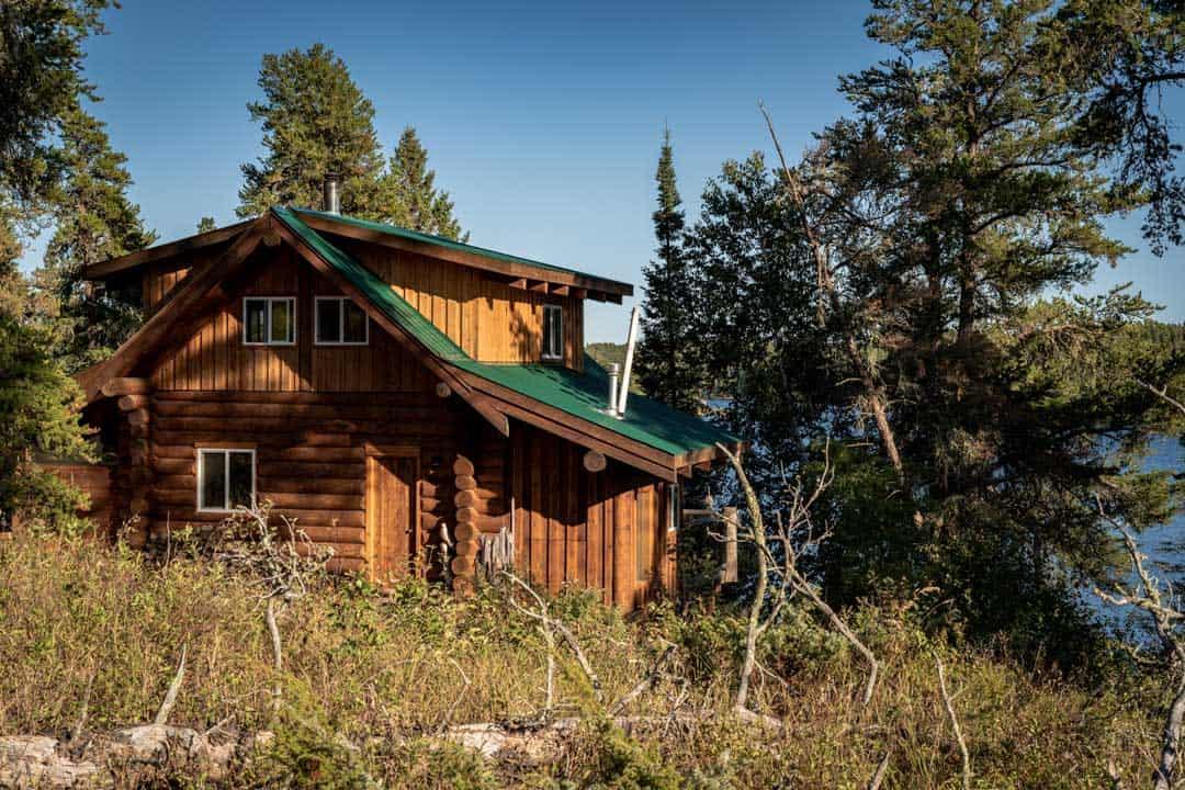 Mahigan Cabin Exterior