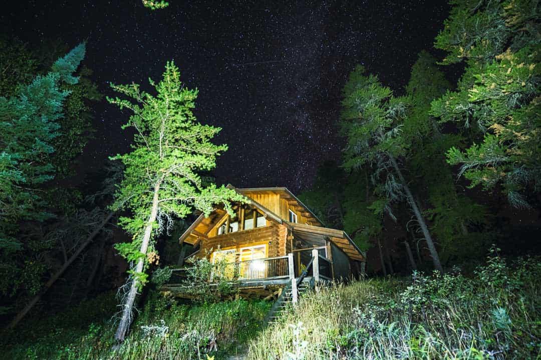 Mahigan Cabin Milky Way