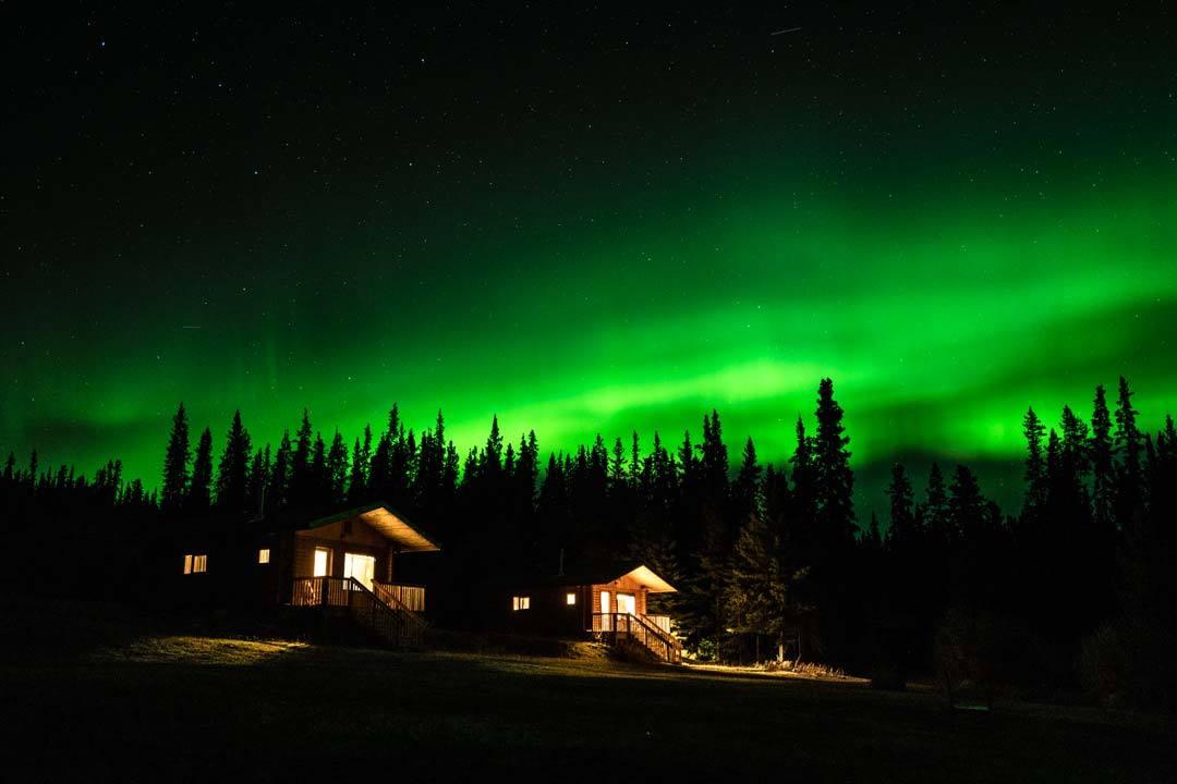 Southern Lakes Resort Northern Lights