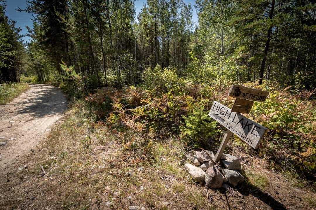 Path To High Lake Manitoba