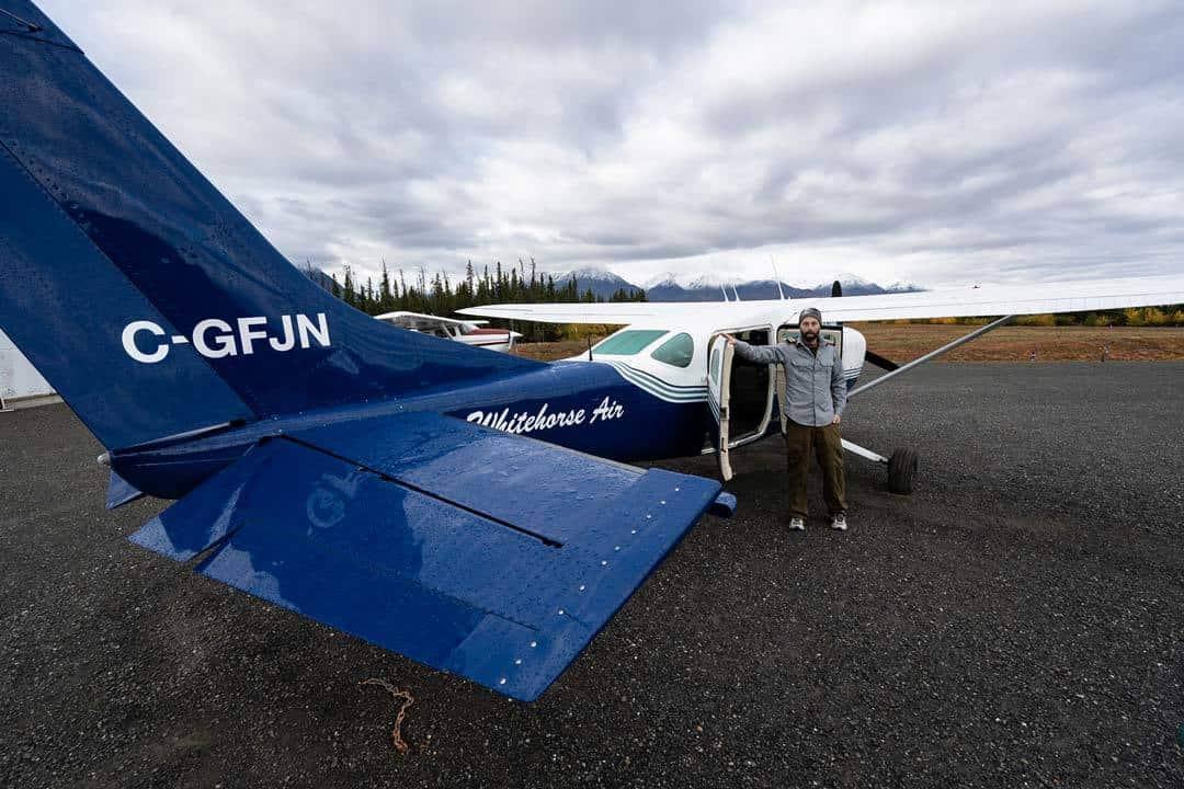 Pilot Plane Kluane Glacier Air Tours
