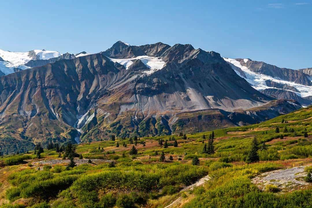 Mountains Yukon Road Trip