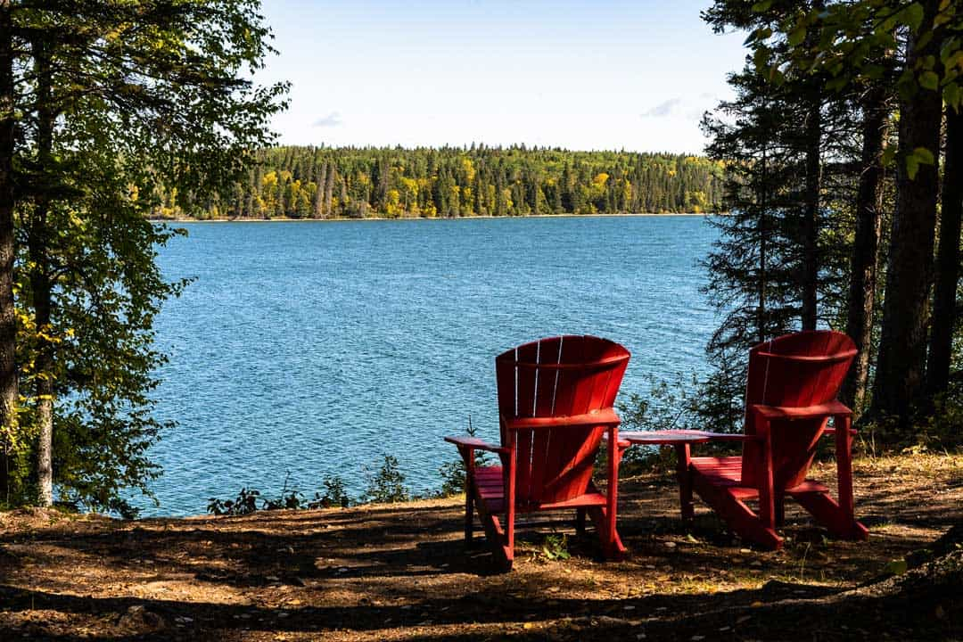 Red Chairs Parks Canada