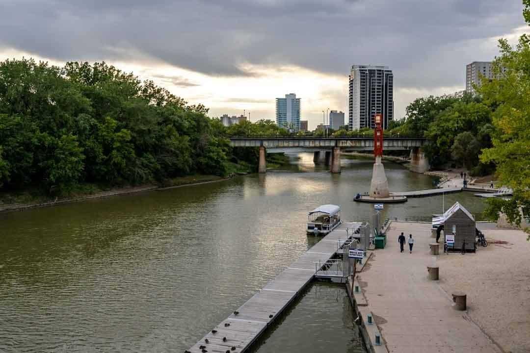 Winnipeg River Walk