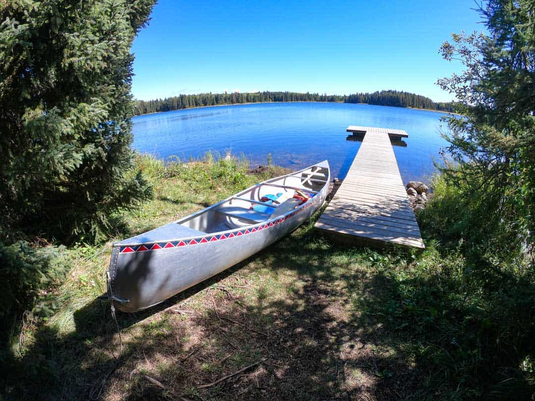 Canoeing In Riding Mountain National Park