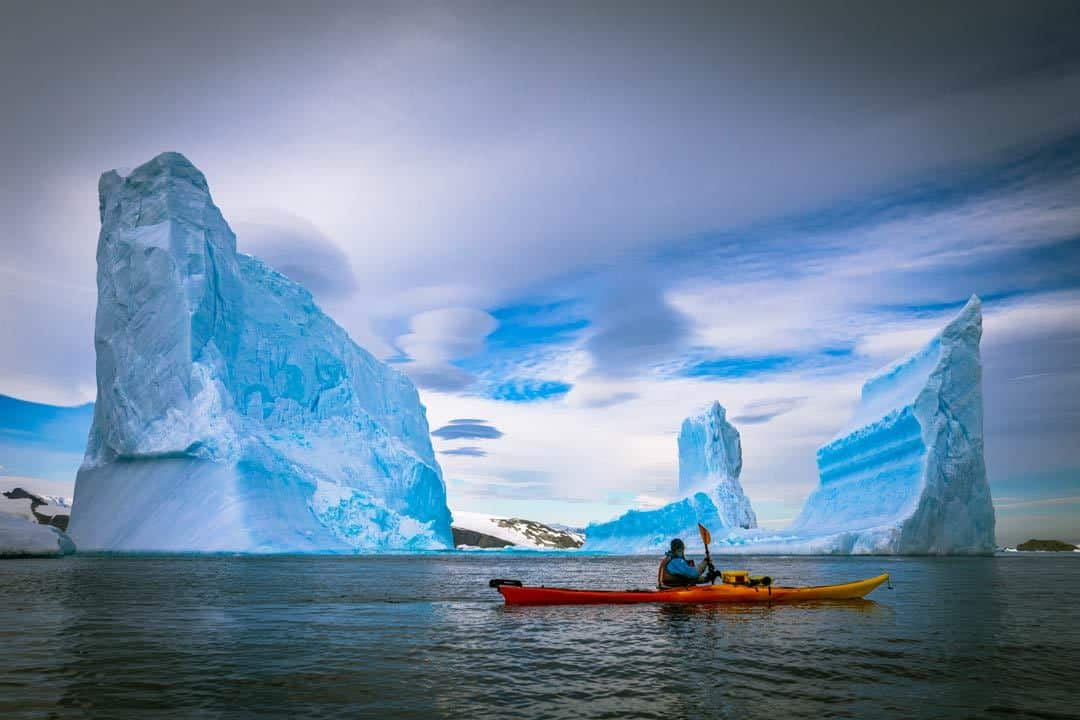 Travel To Antarctica Guide Kayak