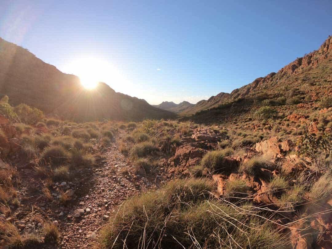 Sunburst Larapinta Track