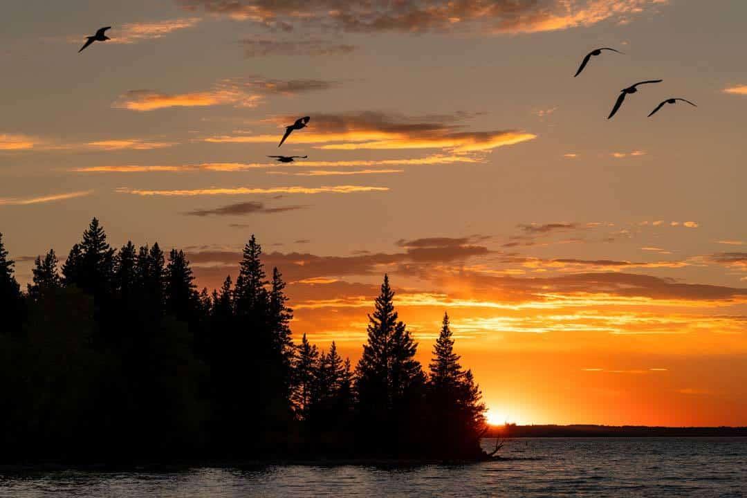 Boat Cruise Clear Lake Manitoba