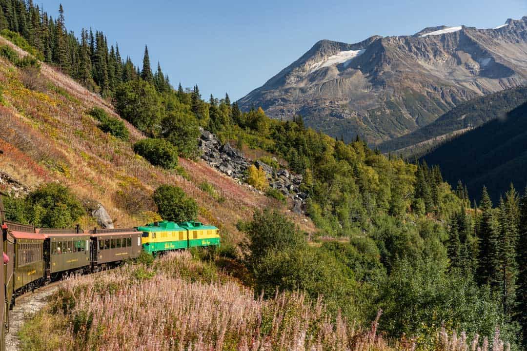 White Pass Yukon Route Train