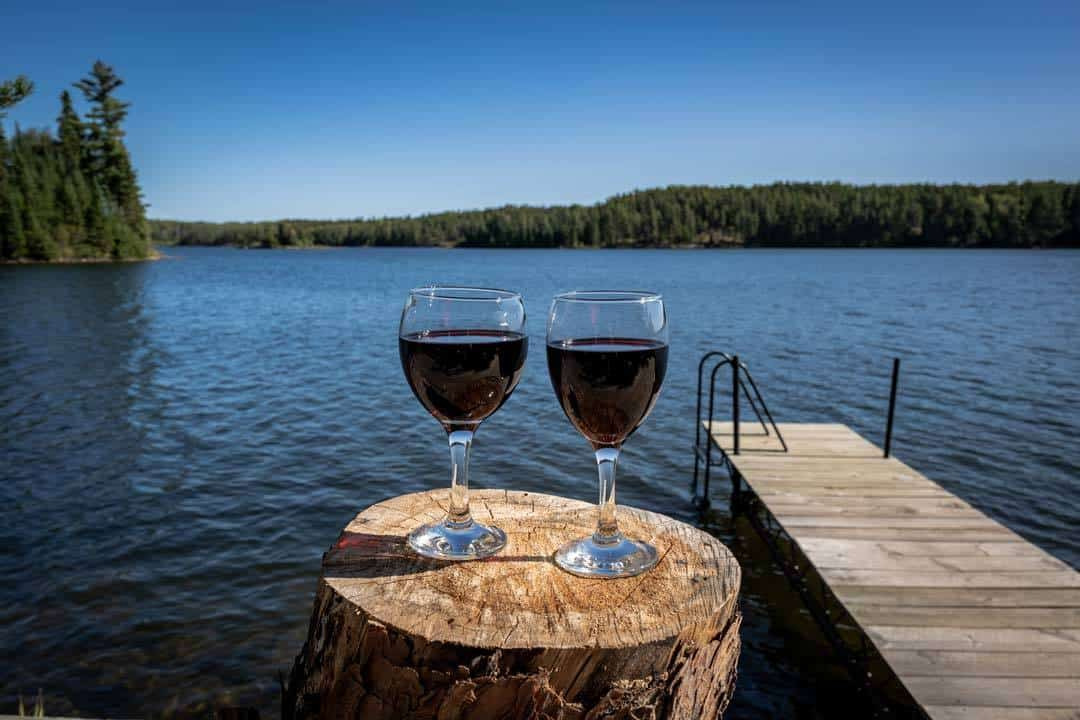 Wine By The Lake