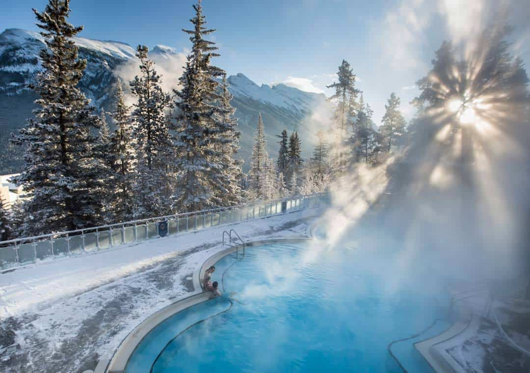 Banff Upper Hot Springs Banff & Lake Louise Tourism / Noel Hendrickson