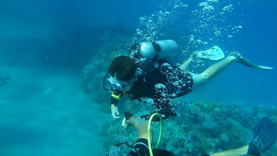 Diving, How To Become A Dive Instructor