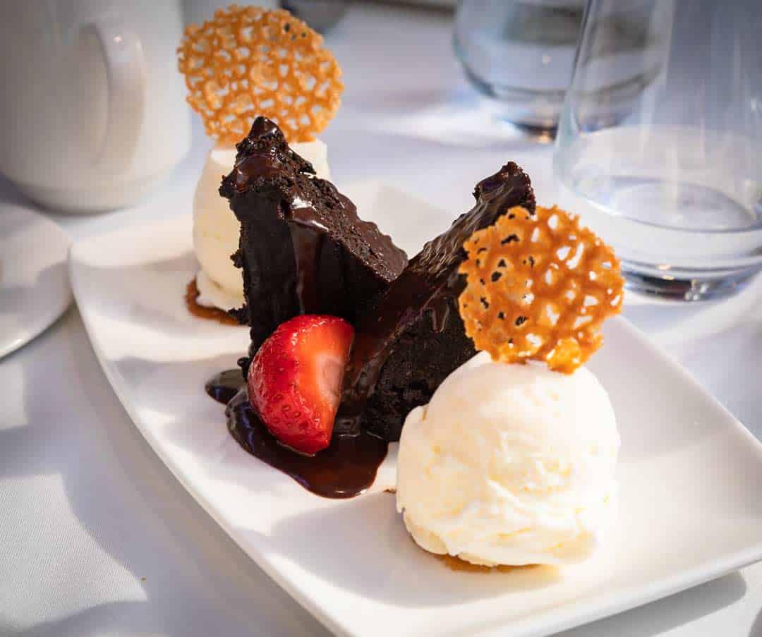 Dessert Rocky Mountaineer Reviews