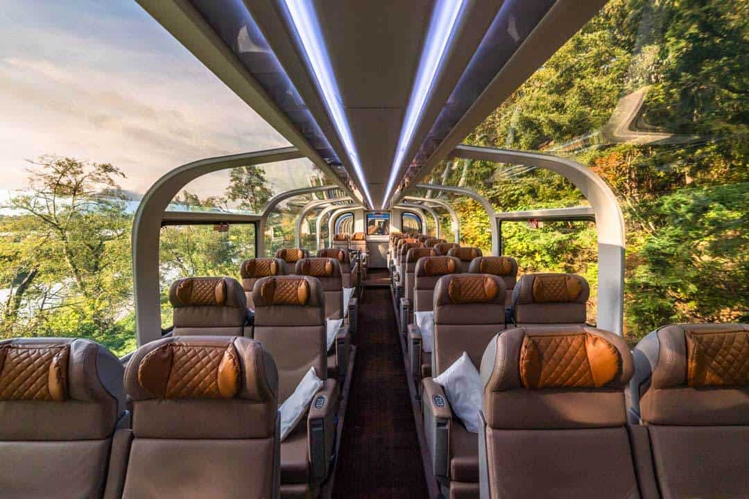 Goldleaf Service Seats Rocky Mountaineer Review