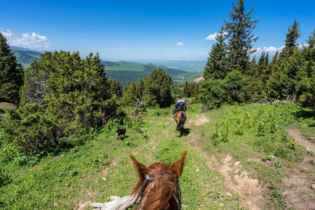 Horse Trek Jyrgalan