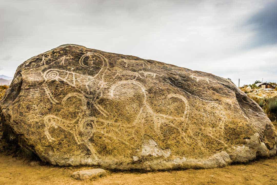 Petroglyphs Cholpon Ata